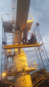 crane service at tuzla
