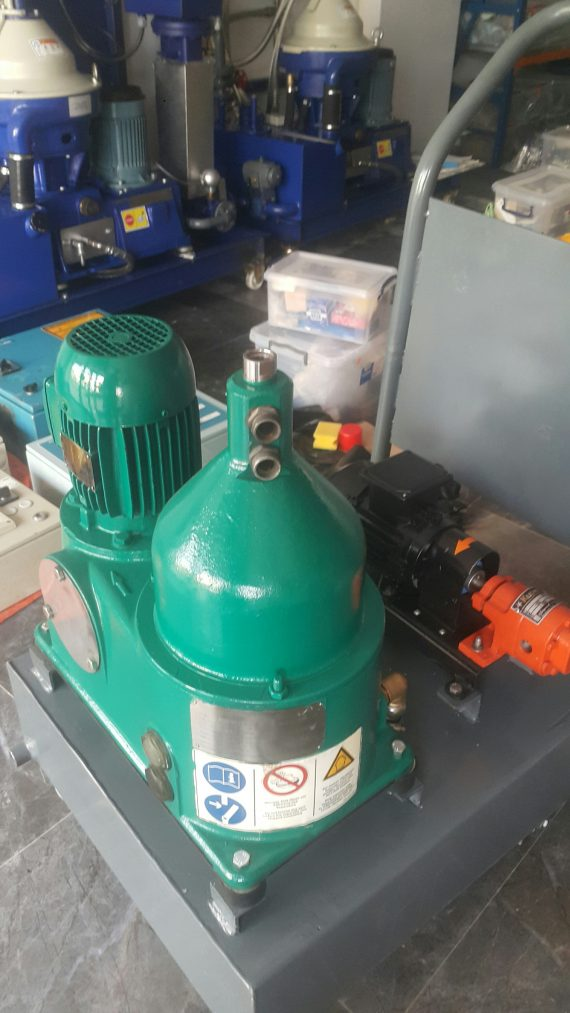 Westfalia OTC-2 separator